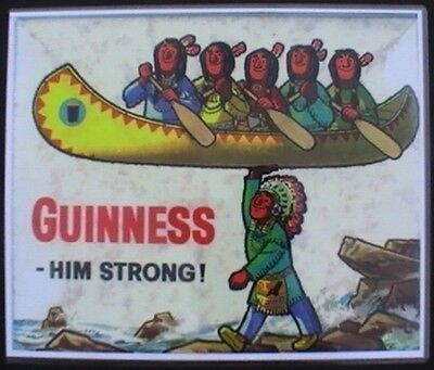 GUINNESS Advertising Art Print  DUBLIN Ale IRISH Brewery Collectable GILROY Harp
