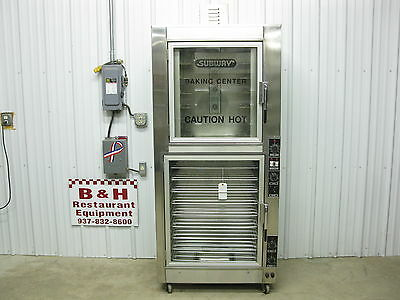NU-VU Bakery Subway Bread Combo Convection Oven w/ Proofer OP-2LFM