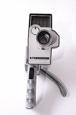 Bell & Howell Zoom Reflex Animation Autoload Double Super 8 Film Movie Camera