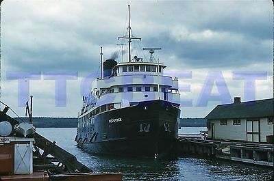 Ship Slide: Norgoma In Manitowaning, On (1959 Original)