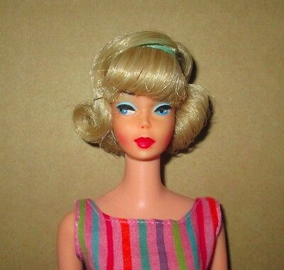 Frosted Blonde Pink Skin Japanese Side-Part American Girl