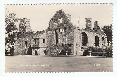 The Earls Palace Kirkwall Orkney Isles 1958 Real Photograph Valentines D3538