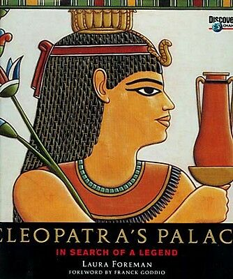 """HugeNew """"Cleopatra's Palace In Search of a Legend"""" Caesar Alexandria Marc Antony"""