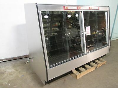 """federal"" H.d. Commercial Lighted 76""w Bakery/donuts/bagel/pastry Display Case"