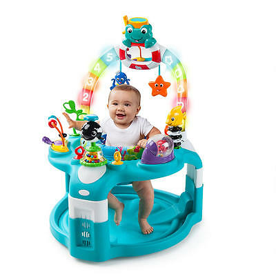 New Baby Einstein 2-in-1 Lights & Sea Activity Center and Saucer Model:23021596