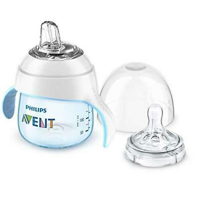 Philips Avent My Natural Trainer Cup, Blue, 5 Ounce, Stage 1 New