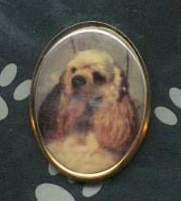 Lapel/Hat Collectible Dog Pin COCKER SPANIEL CLEARANCE