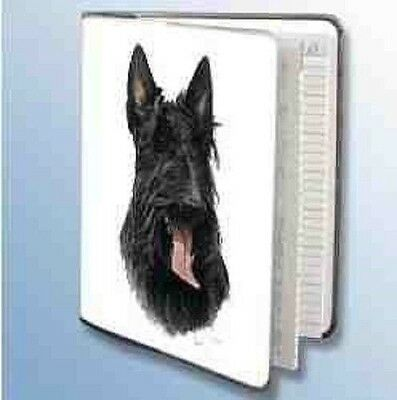 Retired SCOTTISH TERRIER Softcover Address Book art by Robert May
