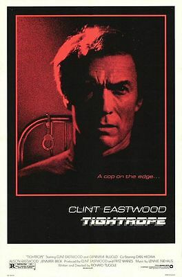 Tightrope Folded Movie Poster 1984