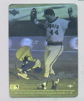 1991 ABL Upper Deck Comic Ball 2 Hologram Card #1