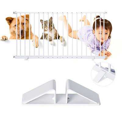Baby Pet Dog Cat Metal Safety Fence Gate Triangular Fixing Gate Fence