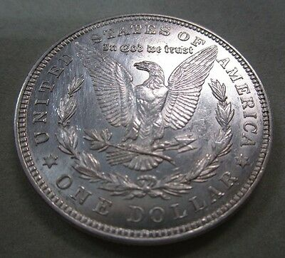 1921 USA Morgan Silver Dollar EF plus.