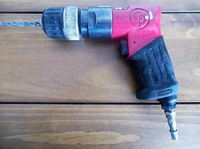 "Chicago Pneumatic Drill -CP9287 -2900 RPM 3/8"" Quick Release Chuck-Aircraft Tool"