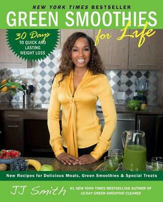 Green Smoothies for Life by Jj Smith (English) Paperback Book Free Shipping!