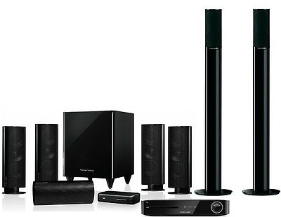 Harman Kardon HKTS 65BQ 5.1CH Home Theater System With 3D Blu-ray Player
