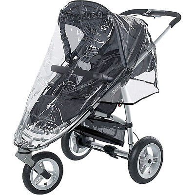 Universal Rain Cover Zipped To Fit Quinny Speedy Stroller Pram