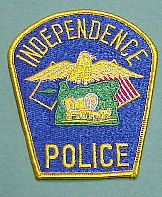 Independence  Oregon  Or  Police Patch  Nice!!  Free Shipping!!