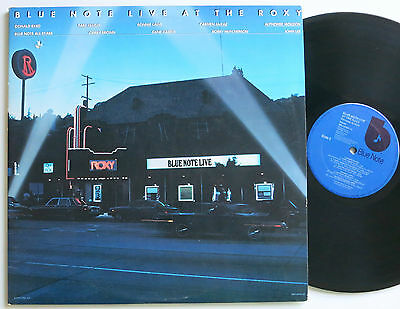 Donald Byrd...blue Note Live At The Roxy Orig Us Blue Note 2 Lp Vg++/mint-