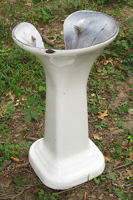 Old Standard Cast Iron Sink Pedestal LOCAL PICKUP ONLY NEWBURGH NY 12550