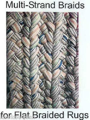 MULTI-STRAND BRAIDS for FLAT BRAIDED RUGS