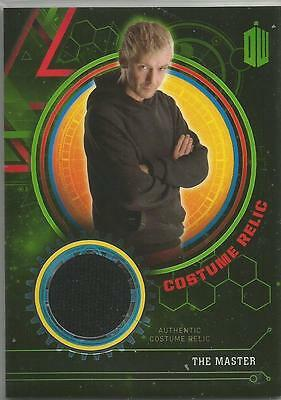 Dr. Who Extraterrestrial Encounters The Master Costume Relic Card #/299
