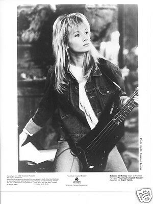 REBECCA DEMORNAY sexy glamour headshot Publicity Press PHOTO '80s STARLET ====