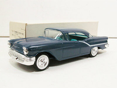 1957 Oldsmobile 98 4DR HT Promo, graded 10 out of 10.  #19755