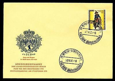 544227) Berlin FDC Nr.131 Tag der Briefmarke 1955