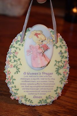 Precious Moments A Woman's Prayer Plaque p574