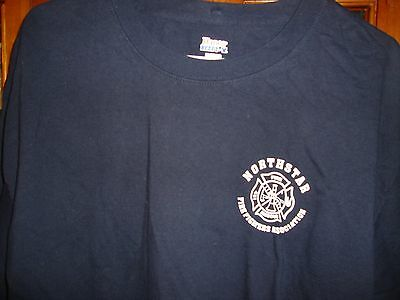 Northstar Fire Fighters truck rescue XL T-shirt