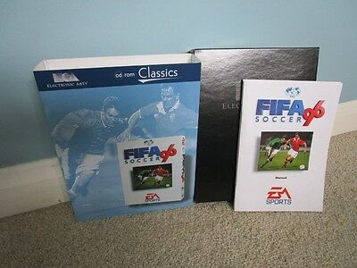 Fifa 96 - PC CD ROM - Box & Manual Only - Excellent Condition