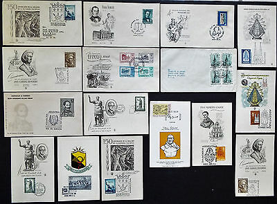 16 Argentina First Day Covers And Cards
