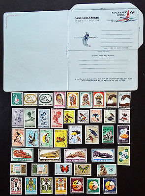 Mnh Stamps Of Papua New Guinea 1963 - 1966 $55 Value