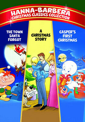 Hanna-Barbera Christmas Classics Collection (2012, REGION 0 DVD New) DVD-R