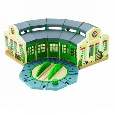 Thomas and Friends - Wooden Railway Tidmouth Roundhouse