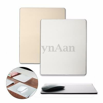 Luxury Aluminum Alloy Mousepad Mouse Mat Non-slip Pad for Macbook Pro HP Dell PC