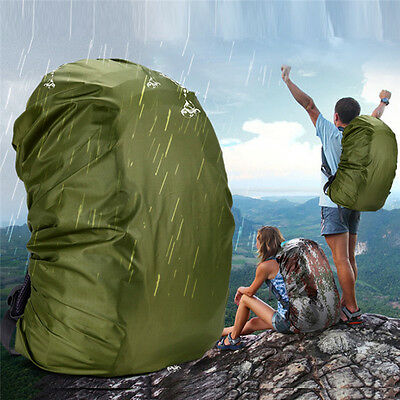 80L Waterproof Travel Accessory Protective Cover Backpack Dust Rain Cover
