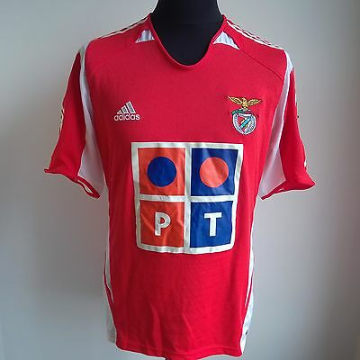 Benfica 2005 Home Adidas Football Shirt Jersey Size Adult L