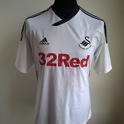 Swansea 2011 Home Football Shirt Adidas Jersey Size Adult M