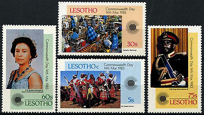 Lesotho 1983 SG#536-9 Commonwealth Day MNH Set #D40118
