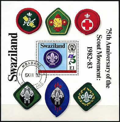 Swaziland 1982 SG#MS420 Boy Scout Movement Cto Used M/S #D40253