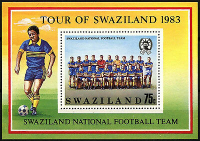Swaziland 1983 National Football Team MNH M/S #D40260