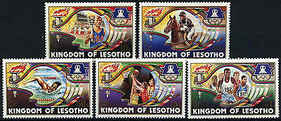 Lesotho 1984 SG#590-4 Olympic Games MNH Set #D40127