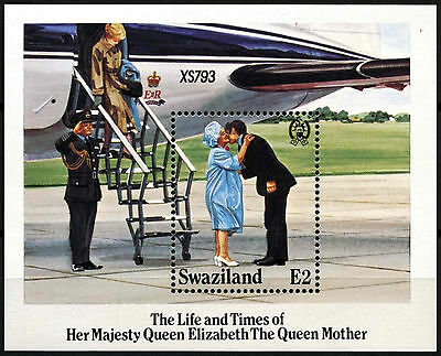 Swaziland 1985 SG#MS490 The Queen Mother MNH M/S #D40266