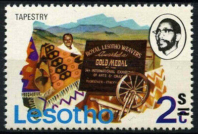 Lesotho 1980-1 SG#402w 2s On 2c Definitive Wmk Top Of Hat To Right MNH #D40084