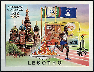 Lesotho 1980 SG#MS397 Olympic Games MNH M/S #D40073