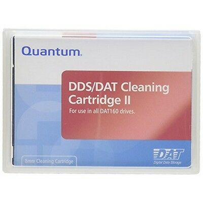 Quantum Media And Tapes 1Pk Dat160 Cleaning Cartridge Mr-D6Cqn-01 New