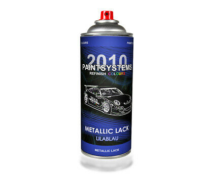 (€12,25/L) Autolack Lackspray 400 ml - lilablau metallic