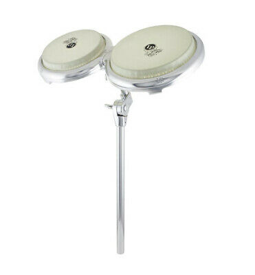 LP LATIN PERCUSSION GIOVANNI COMPACT BONGO DRUMS w/ MOUNTING POST - LP828