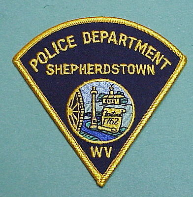 Shepherdstown  West Virginia  1762  Wv  Police Patch   Free Shipping!!!